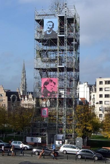 """Tour de l'expo """"Bruxelles ville durable"""""""