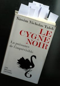 "Livre ""Le Cygne Noir"" de Taleb"