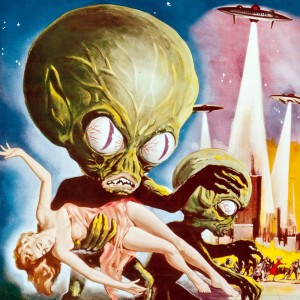 Invasion of the saucer-men edited