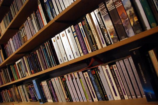 Ma bibliothèque SF