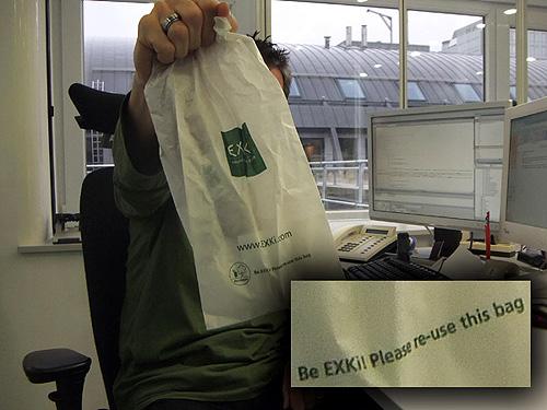 Un sac qui a de l'avenir !