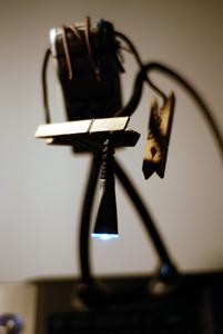 Mon premier objet reçu pour un (Pay)nut, tenu par Mobilou