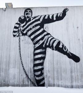 Un peinture à 1 million de £ pour la prison de Halden