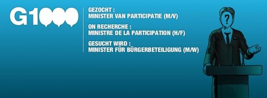 On recherche ministre de la participation