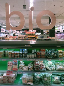 Du bio dans le supermarché : Jane en a-t-elle rêvé ?