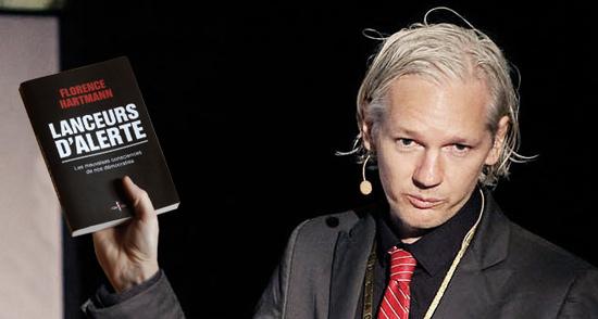 Julian Assange (Wikileaks) aime les lanceurs d'alerte