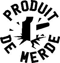Logo produit de merde