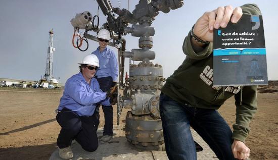 Le gaz de schiste : bientôt chez vous ?
