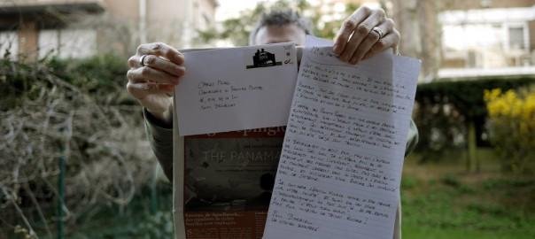 Une vraie lettre à l'ancienne, dans une enveloppe avec un timbre. Non, ce n'est pas une lettre d'amour !