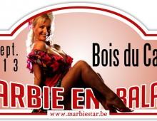 Plaque de rallye Marbie