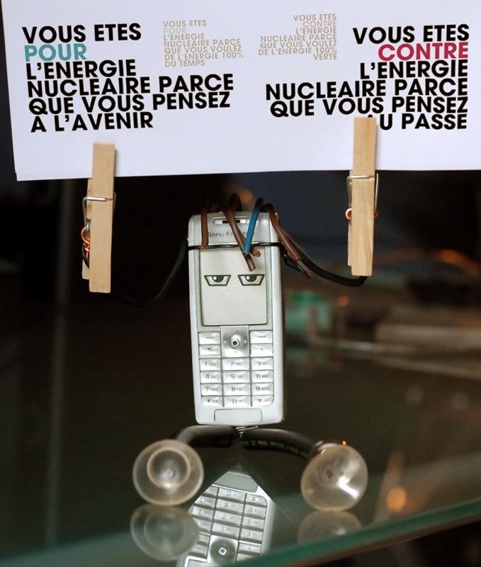 Mobilou pour ou contre le nucléaire